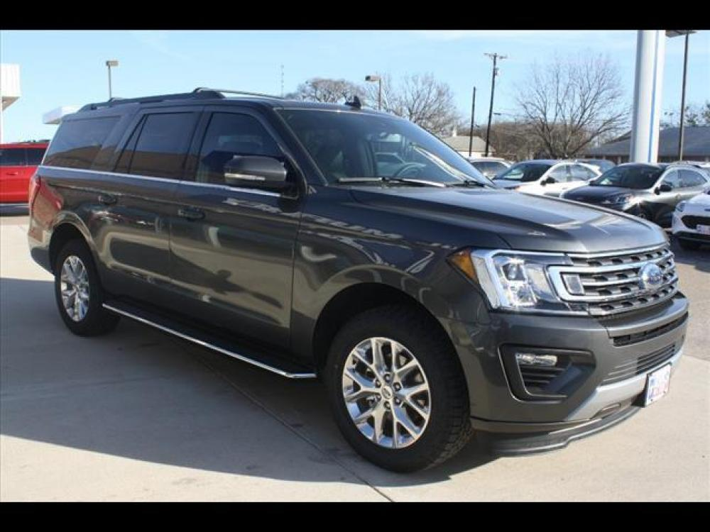 2021 Magnetic Metallic Ford Expedition MAX XLT (1FMJK1HT7ME) with an 3.5L V6 DOHC 24V FFV engine, 6A transmission, located at 1105 E Mulberry, Kaufman, TX, 75142, (972) 962-2151, 32.589550, -96.300926 - Photo #9
