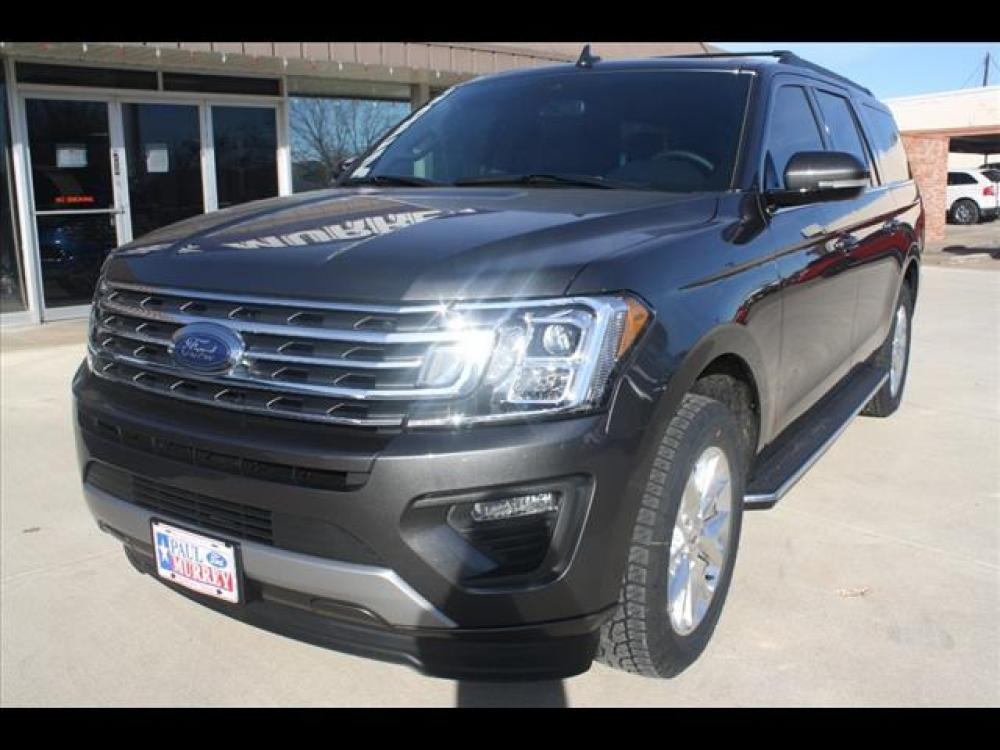 2021 Magnetic Metallic Ford Expedition MAX XLT (1FMJK1HT7ME) with an 3.5L V6 DOHC 24V FFV engine, 6A transmission, located at 1105 E Mulberry, Kaufman, TX, 75142, (972) 962-2151, 32.589550, -96.300926 - Photo #1