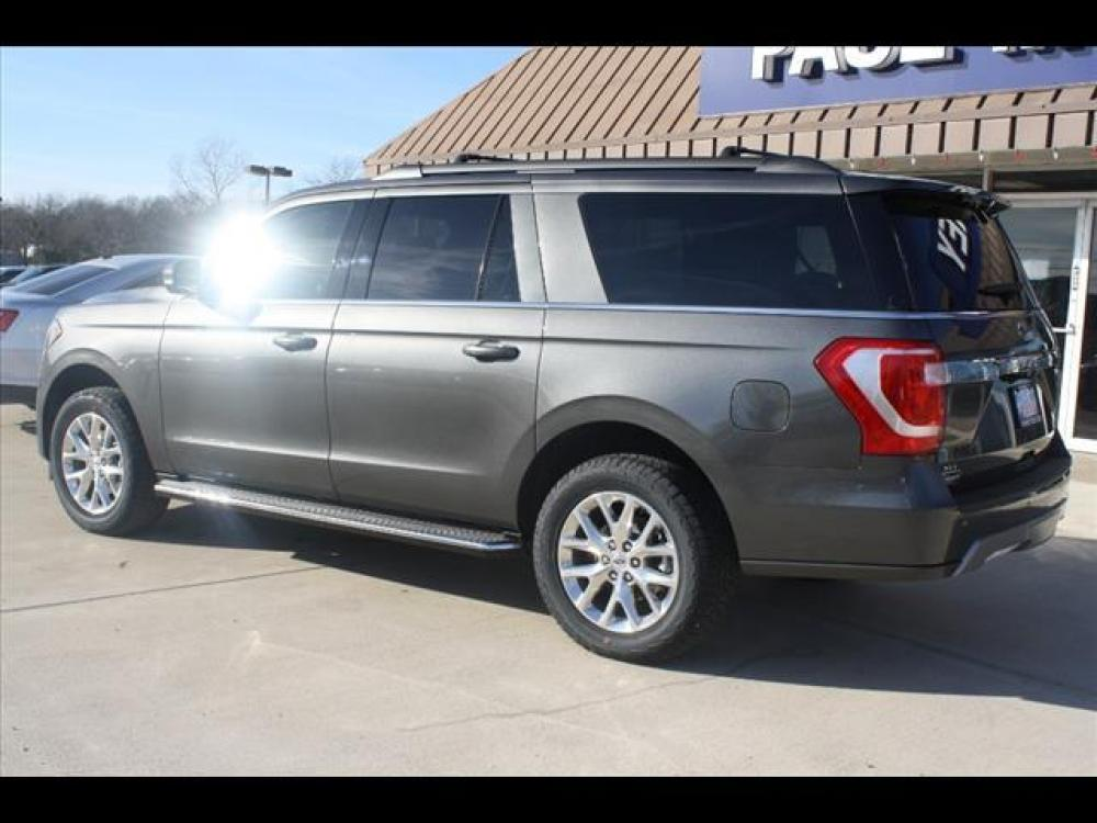 2021 Magnetic Metallic Ford Expedition MAX XLT (1FMJK1HT7ME) with an 3.5L V6 DOHC 24V FFV engine, 6A transmission, located at 1105 E Mulberry, Kaufman, TX, 75142, (972) 962-2151, 32.589550, -96.300926 - Photo #3